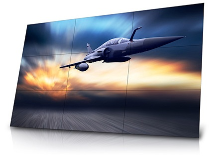 bezel less thin bezel screens specifically designed for use in video walls have increasingly thin or no bezels inorder to minimize the gap between active